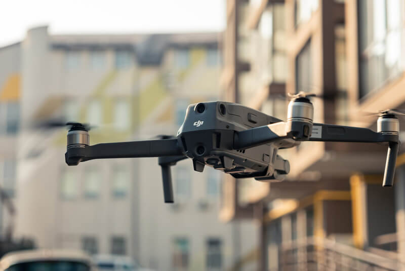 Patrolowanie orazmonitorowanie przy użyciu dronów